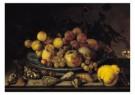 Balthasar v. d. Ast (1593-1657 -  Stilleven vrucht - Postkaart -  A10306-1