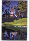Vassily Kandinsky (1866-1944)  -  Achtyrka, 1917 - Postkaart -  A10315-1