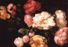 Charles Emile Jacque 1813-1894 -  Pioenrozen - Postkaart -  A10344-1