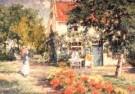Evert Pieters (1856-1932)  -  Zomerdag detail - Postkaart -  A10346-1