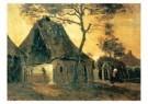 Vincent van Gogh (1853-1890)  -  Boerenhuis Nuenen - Postkaart -  A10365-1
