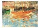 Berthe Morisot (1841-1895)  -  De haven van Nice - Postkaart -  A10366-1