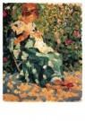 Otto van Rees (1888-1959)  -  Adya bordurend - Postkaart -  A10372-1