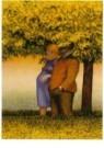 Herman Gordijn (1932-2017)  -  Wandeling - Postkaart -  A10380-1