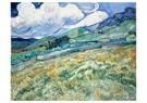 Vincent van Gogh (1853-1890)  -  Landscape from Saint-Rémy, 1889 - Postkaart -  A104234-1