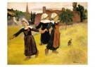 Paul Gauguin (1848-1903)  -  Breton Girls - Postkaart -  A10428-1