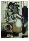 Dick Ket (1902-1940)  -  Stilleven witte kan en houten paardje - Postkaart -  A10449-1
