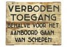 -  Bord uit Rotterdamse haven - Postkaart -  A10477-1