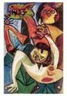 Lucebert (1924-1994)  -  Bataille 1951 - Postkaart -  A10498-1