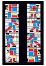 Theo van Doesburg (1883-1931)  -  Grote Pastorale, 1922 - Postkaart -  A105096-1
