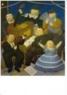 Fernando Botero (1932)  -  Het Orkest - Postkaart -  A10534-1