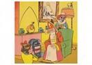 A.N.B.  -  Sinterklaas zit bij de kachel - Postkaart -  A105453-1