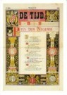 -  Dagblad de Tijd voorpagina - Postkaart -  A10571-1