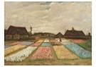 Vincent van Gogh (1853-1890) - Flower Beds in Holland / Bulb Fields, 1883 - Postkaart - A106363-1