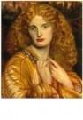 Dante Gabriel Rossetti 1828-18 -  Helen of Troy - Postkaart -  A10666-1