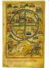 -  Kaart v.Jeruzalem Prentbijbel - Postkaart -  A10680-1