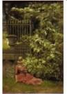 Emile Claus (1849-1924)  -  Lezende-La lecture - Postkaart -  A10697-1