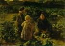 J.S.H. Kever (1854-1922)  -  In de Moestuin - Postkaart -  A10724-1