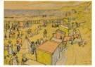 Jan Th.Toorop (1858-1928)  -  Strandgezicht - Postkaart -  A10729-1