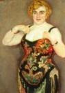 Jan Sluijters (1881-1957)  -  Artieste, detail - Postkaart -  A10748-1
