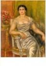 Pierre-Auguste Renoir (1841-19 -  Portret dichteres - Postkaart -  A10775-1