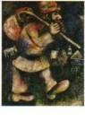 Marc Chagall (1887-1985)  -  De wandelende Jood - Postkaart -  A10782-1