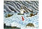 Dominique Lagru (1873-1960)  -  De woeste kust - Postkaart -  A10787-1
