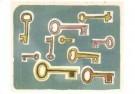 Klaas Gubbels (1934)  -  Sleutels - Postkaart -  A10798-1