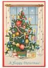 Anonymus  -  Kerstboom met cadeaus - Postkaart -  A108266-1