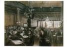Friedrich Stahl (1863-1940)  -  In cafe Bauer - Postkaart -  A10853-1