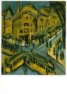 Ernst Ludw. Kirchner 1880-1938 -  Nollendorfplatz - Postkaart -  A10856-1