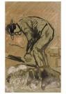 Theo van Doesburg (1883-1931)  -  Landarbeider aan het werk, 1903 - Postkaart -  A108665-1