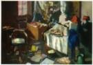 Kees Verwey (1900-1995)  -  Ateliersinterieur - Postkaart -  A10901-1