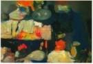 Kees Verwey (1900-1995)  -  Tafel in atelier - Postkaart -  A10916-1