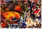 Kees Verwey (1900-1995)  -  Compositie fruitschaal - Postkaart -  A10919-1