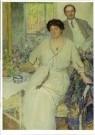 Richard Miller (1875-1943)  -  Portrait van Anna & Wiliam Singer - Postkaart -  A11027-1
