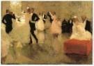 Marius Bauer (1867-1932)  -  Het bal, 1888 - Postkaart -  A11085-1