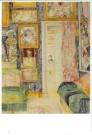 James S. Ensor (1860-1949)  -  Interieur van de kustenaar - Postkaart -  A11140-1