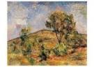 Paul Cezanne (1839-1906)  -  Landschap bij Aix met de Tour de Cesar - Postkaart -  A11152-1