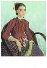 Vincent van Gogh (1853-1890)  -  La Mousmé, 1888 - Postkaart -  A111799-1