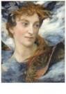 Edgar Maxence (1871-1954)  -  Hoofd van een godheid - Postkaart -  A11185-1