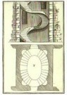 Andrea Palladio (1508-1580)  -  Verhandeling van schoorsteen - Postkaart -  A11197-1
