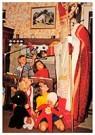 Anonymus  -  Kinderen kijken naar Sinterklaas - Postkaart -  A112531-1