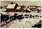Dick Ket (1902-1940)  -  Uitzicht uit het atelier te Bennekom gem. Ede - Postkaart -  A11257-1