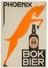 Nicolaas P. de Koo (1881-1960) -  Affiche Phoenix Bokbier, 1932 - Postkaart -  A11270-1