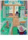 Jan Sluijters (1881-1957)  -  Badkamer, 1950 - Postkaart -  A11275-1