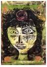 Paul Klee (1879-1940)  -  Rosa, 1920 - Postkaart -  A112967-1