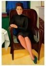 Paul Citroen (1896-1983)  -  Portret van Corry Muhlenfeld, 1939 - Postkaart -  A11336-1