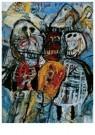 Lucebert (1924-1994)  -  Viva Ensor, 1961 - Postkaart -  A11350-1