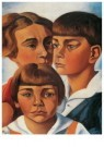 Charlie Toorop (1891-1955)  -  Portret van de kinderen Radecker - Postkaart -  A11368-1